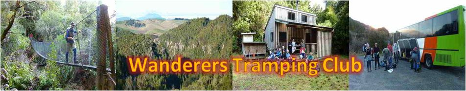 Trip information, past trips and contacts for Wanderers Tramping Club